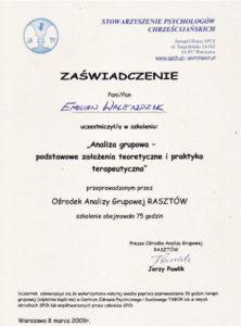 Analiza grupowa - podstawowe założenia teoretyczne i praktyka teoretyczna