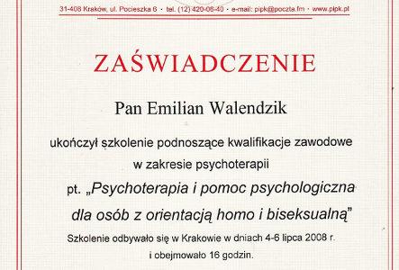 Psychoterapia i pomoc psychologiczna dla osób z orientacją homo i biseksualną